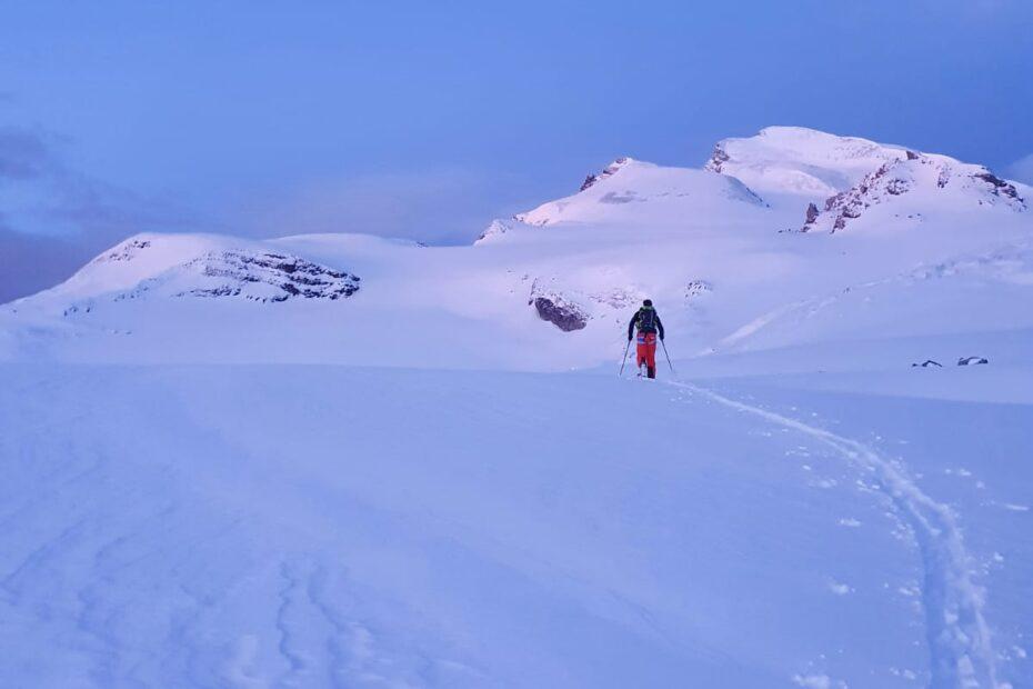 STRAHLHORN - cresta in ambiente glaciale