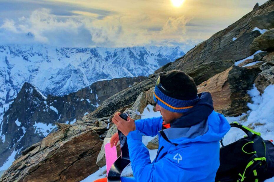 altavia 4000 - Salita sul Lagginhorn al tramonto